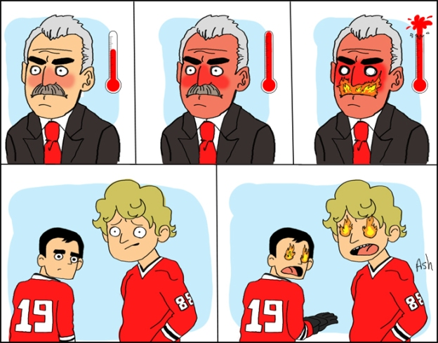 Coach Q degrees of anger