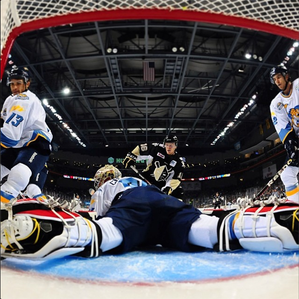 At Least One Walleye Goaltender Is Doing Well (woo Carruth!) / Photo via Toledo Walleye Instagram
