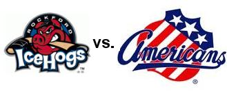 icehogs-vs-rochester-americans-logos